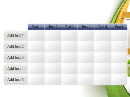 Green Paint Cun PowerPoint Template Slide 15