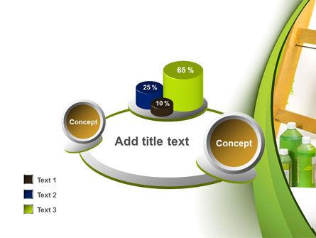 Green Paint Cun PowerPoint Template Slide 16
