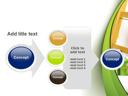 Green Paint Cun PowerPoint Template Slide 17