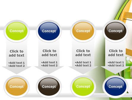 Green Paint Cun PowerPoint Template Slide 18