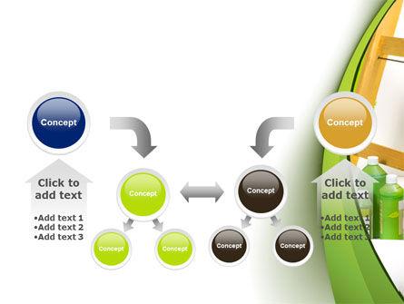 Green Paint Cun PowerPoint Template Slide 19
