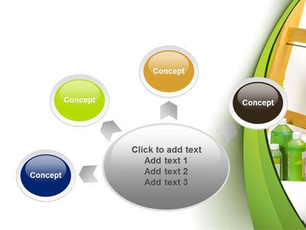 Green Paint Cun PowerPoint Template Slide 7