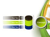 Green Paint Cun PowerPoint Template#11