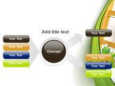Green Paint Cun PowerPoint Template#14