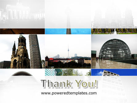 Sights Of Berlin PowerPoint Template Slide 20