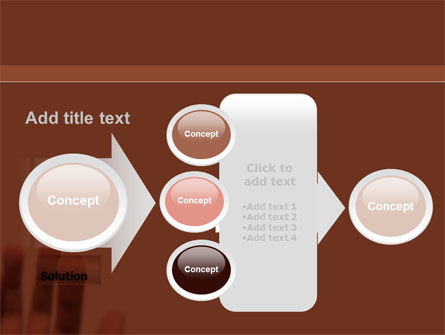Solution Button PowerPoint Template Slide 17