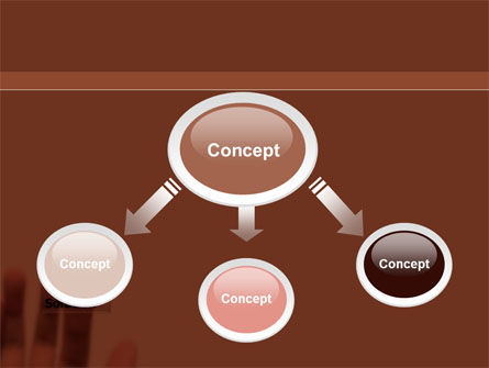 Solution Button PowerPoint Template, Slide 4, 09806, Consulting — PoweredTemplate.com