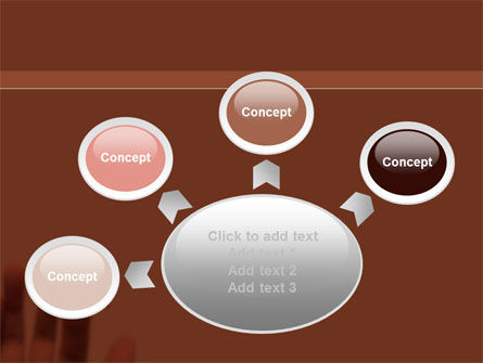 Solution Button PowerPoint Template Slide 7