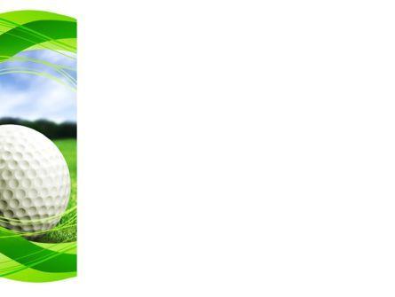Ball For Golf PowerPoint Template, Slide 3, 09807, Sports — PoweredTemplate.com