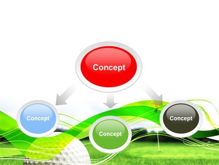 Ball For Golf PowerPoint Template Slide 4