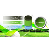 Ball For Golf PowerPoint Template#11