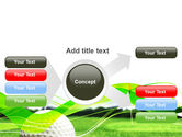 Ball For Golf PowerPoint Template#14