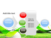 Ball For Golf PowerPoint Template#17