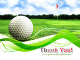 Ball For Golf PowerPoint Template#20