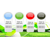 Ball For Golf PowerPoint Template#5