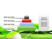 Ball For Golf PowerPoint Template#8