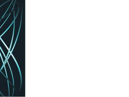 Blue Tentacles PowerPoint Template, Slide 3, 09809, Telecommunication — PoweredTemplate.com