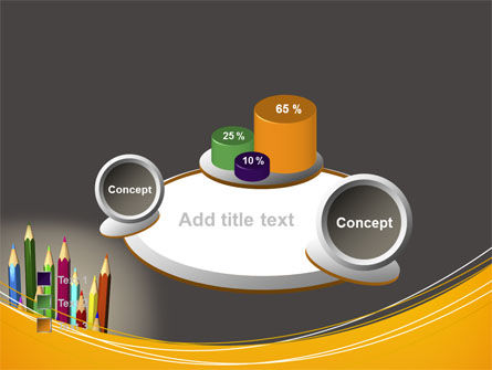 Colored Pencils PowerPoint Template Slide 16