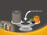 Colored Pencils PowerPoint Template#10