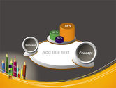 Colored Pencils PowerPoint Template#16