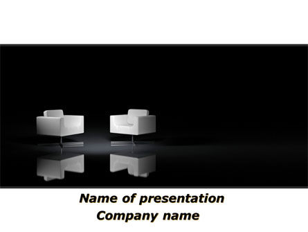 Careers/Industry: Invitation To Talk PowerPoint Template #09813