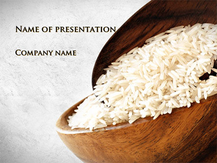 Oblong Rice PowerPoint Template, 09814, Food & Beverage — PoweredTemplate.com