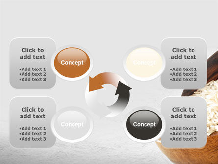 Oblong Rice PowerPoint Template Slide 9