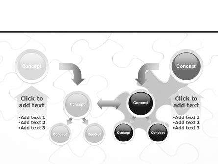 Last Step To Complete Puzzle PowerPoint Template Slide 19