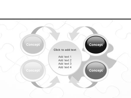 Last Step To Complete Puzzle PowerPoint Template Slide 6