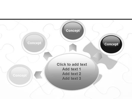 Last Step To Complete Puzzle PowerPoint Template Slide 7
