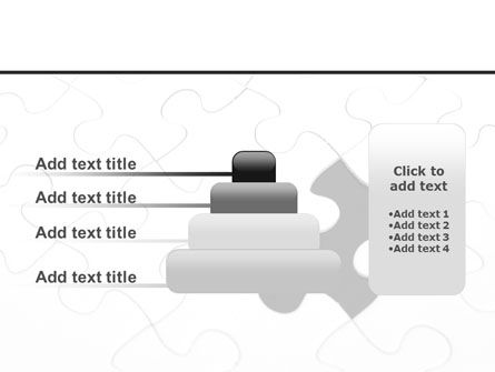 Last Step To Complete Puzzle PowerPoint Template Slide 8