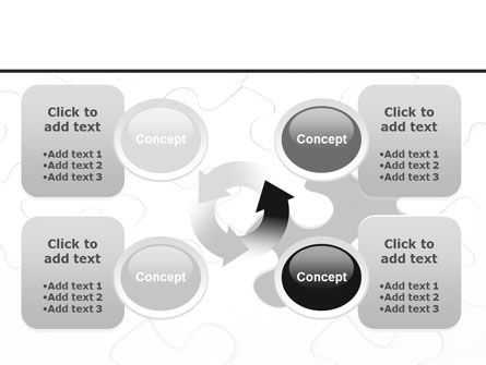 Last Step To Complete Puzzle PowerPoint Template Slide 9