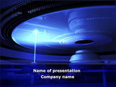 Technology and Science: Compact Disk Player PowerPoint Template #09817