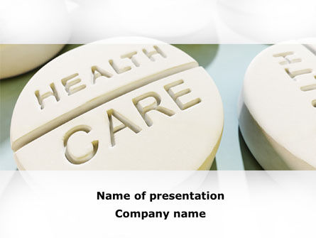 Medical: Health Care PowerPoint Template #09818