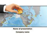 Telecommunication: Alaska Switching Node PowerPoint Template #09820