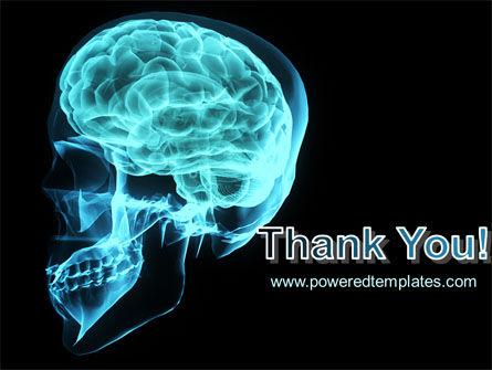 MRT Of Cranial Cavity PowerPoint Template Slide 20