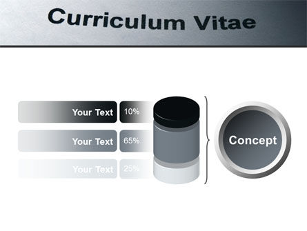 Ordinary Curriculum Vitae PowerPoint Template Slide 11