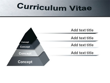 Ordinary Curriculum Vitae PowerPoint Template Slide 12