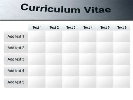Ordinary Curriculum Vitae PowerPoint Template Slide 15