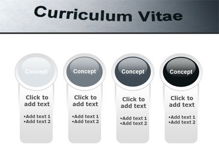 Ordinary Curriculum Vitae PowerPoint Template Slide 5