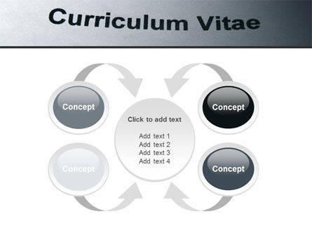 Ordinary Curriculum Vitae PowerPoint Template Slide 6