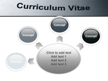 Ordinary Curriculum Vitae PowerPoint Template Slide 7