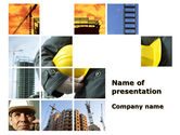 Utilities/Industrial: Those, Who Build The Cities PowerPoint Template #09825