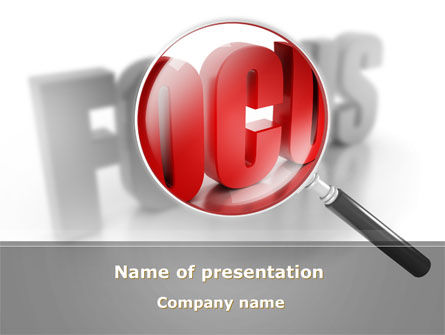 Focus On Solving Problem PowerPoint Template
