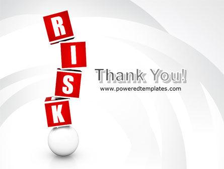Risky Balance PowerPoint Template Slide 20