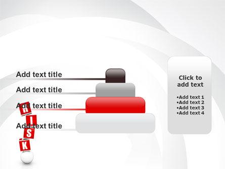 Risky Balance PowerPoint Template Slide 8