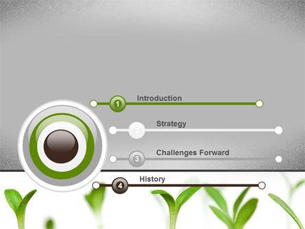 Garden Bed PowerPoint Template, Slide 3, 09829, Nature & Environment — PoweredTemplate.com