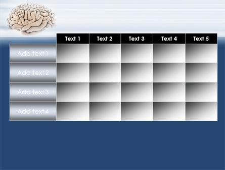 Human Brain Preparation PowerPoint Template Slide 15