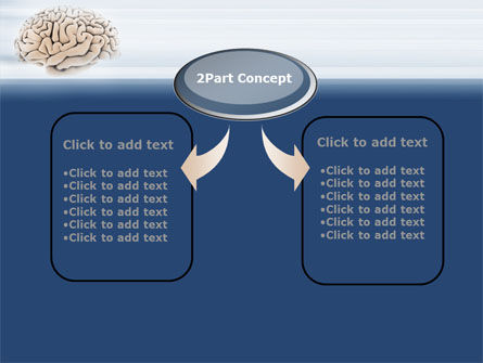 Human Brain Preparation PowerPoint Template, Slide 4, 09833, Medical — PoweredTemplate.com