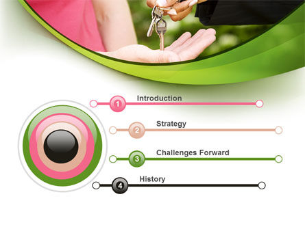 Key Transfer PowerPoint Template, Slide 3, 09834, Real Estate — PoweredTemplate.com